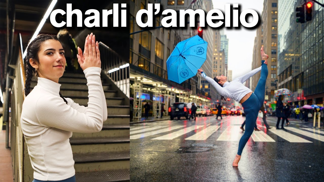 Charli D'Amelio's Incredible TikTok Photo Challenge