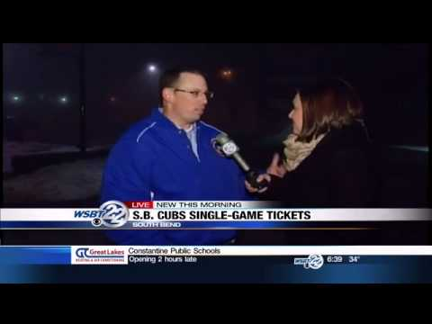 South Bend Cubs single game tickets go on sale