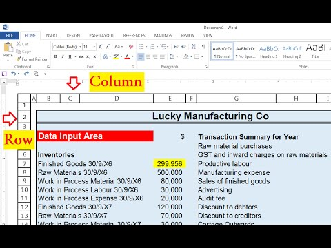 How To Easily Copy Excel Sheet Table With Rows And Column Headings In Word Document?