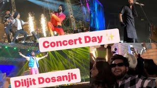 Diljit Dosanjh live Performance in Gurgaon lesser valley Ground