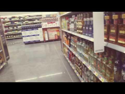Walmart liquor store