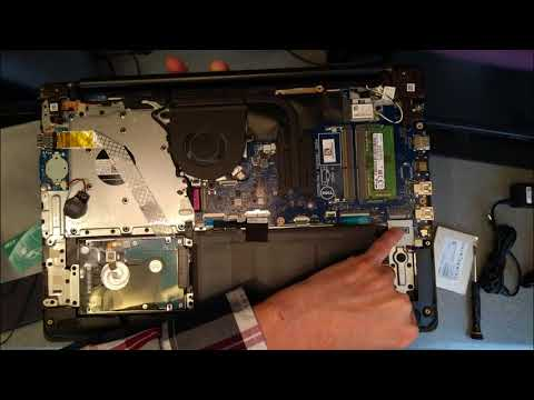 Inspiron 15 5000 P75F - How to change or upgrade the hard disk