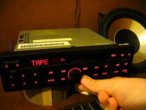 Audi A4 B5 - Radio Blaupunkt Concert M4