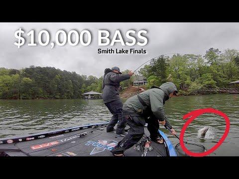 I Catch a $10,000 Bass - Smith Lake Final