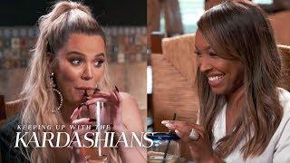 Khloé Kardashian & Malika Haqq Make Plans To Visit Tristan in Cleveland   KUWTK   E!