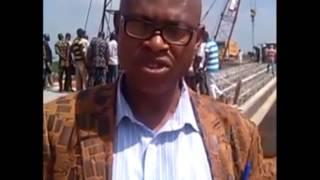 NTA Network Osogbo Reports On Beams Laying At Bridge