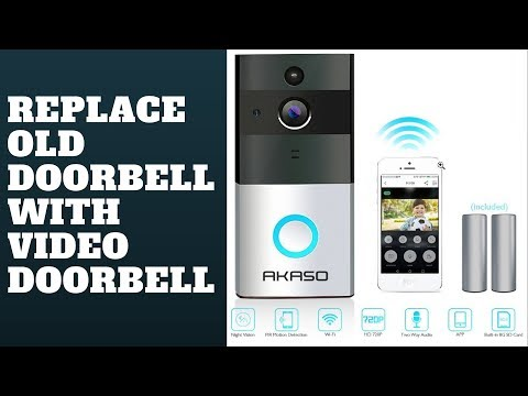 Replace Old Doorbell With Video Doorbell