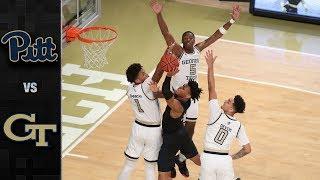 Pittsburgh vs. Georgia Tech Basketball Highlights (2018-19)
