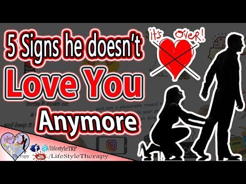 5 signs he doesn't love you anymore & he's not interested | animated video