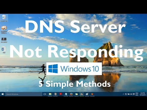 DNS Server Not Responding Error in Windows 10 (Solved: 5 Methods)