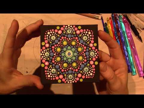 Painted Dot Mandalas for Beginners