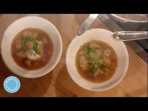 Sopa de Ajo (Bread Soup) with Mario Batali - Martha Stewart
