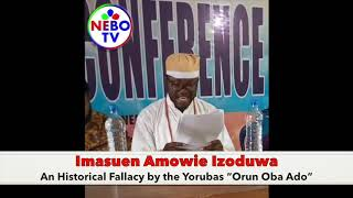 """The Yorubas """"Orun Oba Ado"""" and the Oba of Benin"""