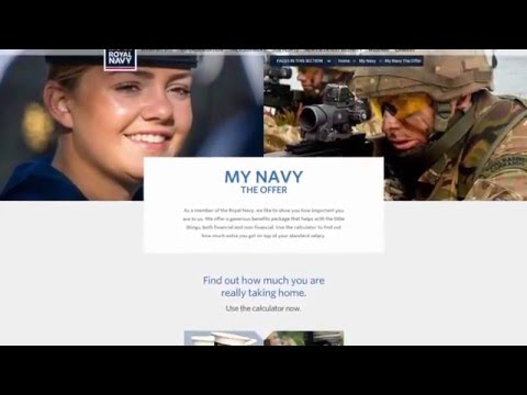 Royal Navy TwoSix.tv December 2015: Benefits Calculator