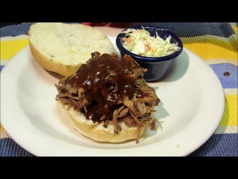 Crock Pot BBQ Beef with Homemade BBQ Sauce