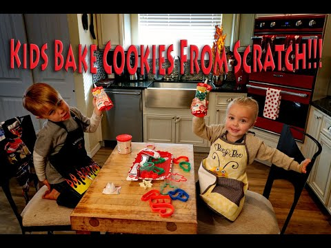 Baking Sugar Cookies From Scratch!