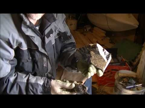 Knapping obsidian, from start to finish, part 1
