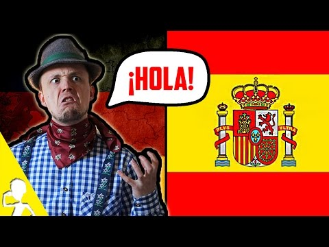 A German Attempting To Speak Spanish | Get Germanized