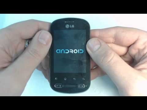 Lg Optimus ME P350   How to remove  too many pattern attempts  by hard reset