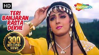 Teri Banjaran Rasta (HD) - Banjaran Songs - Rishi Kapoor - Sridevi - Alka Yagnik