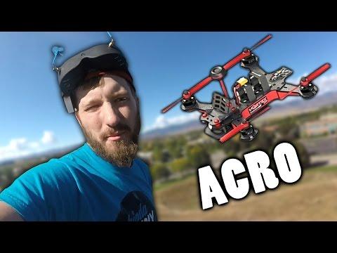 Learning Acro Mode - Vortex 250 Pro