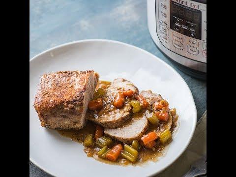 Instant Pot Pork Loin - Dinner done in an Instant (Pot)