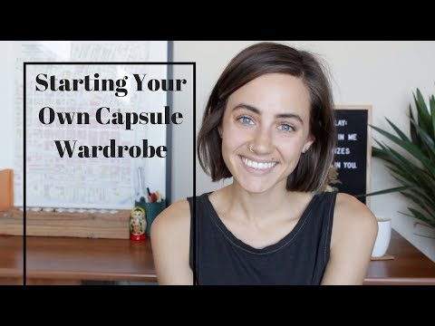 Starting Your Own Capsule Wardrobe