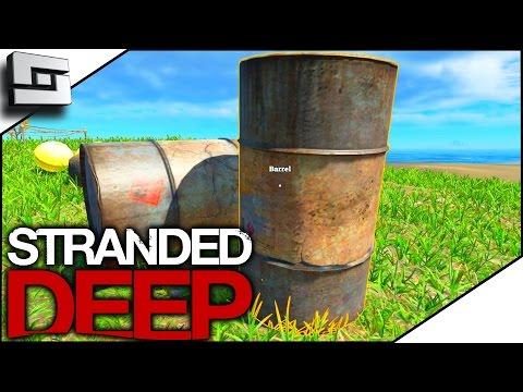 Stranded  Deep Gameplay - BARRELS! S3E6
