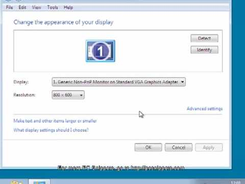 How to Change the Screen Resolution in Windows 7