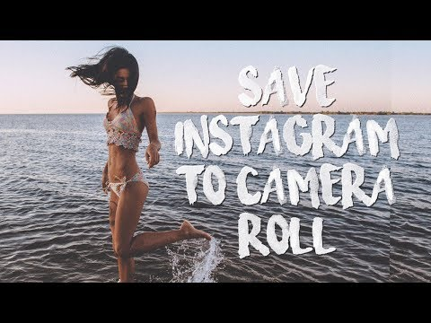 How To Save Instagram Photos To iPhone Without Jailbreak 2018!