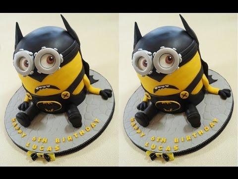 Batman Cake Minion Cake How To