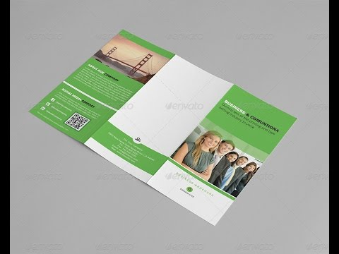 Trifold Business Brochure A4 Template Vol 13
