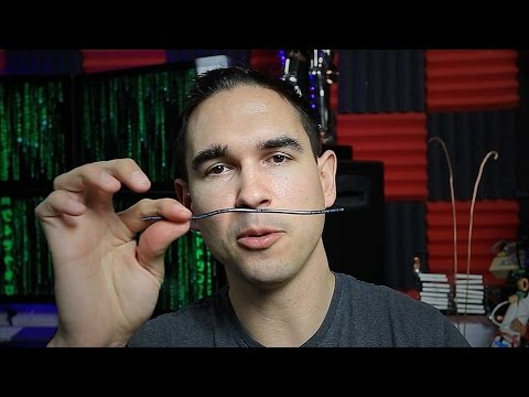How to stop snoring - using a copper wire