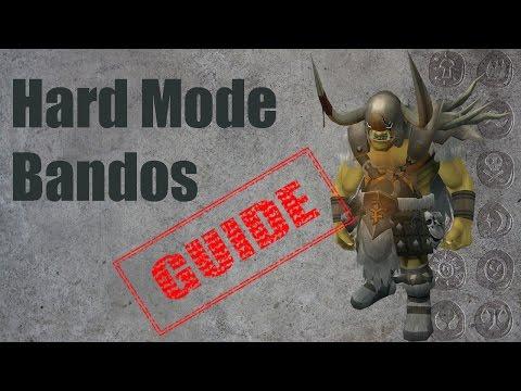 [Runescape] Hard mode Bandos solo guide-2015 40kills/h