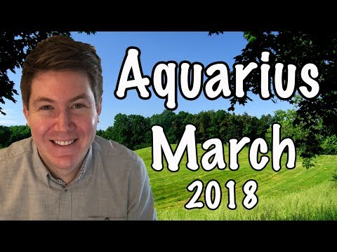 Aquarius March 2018 Horoscope | Gregory Scott Astrology