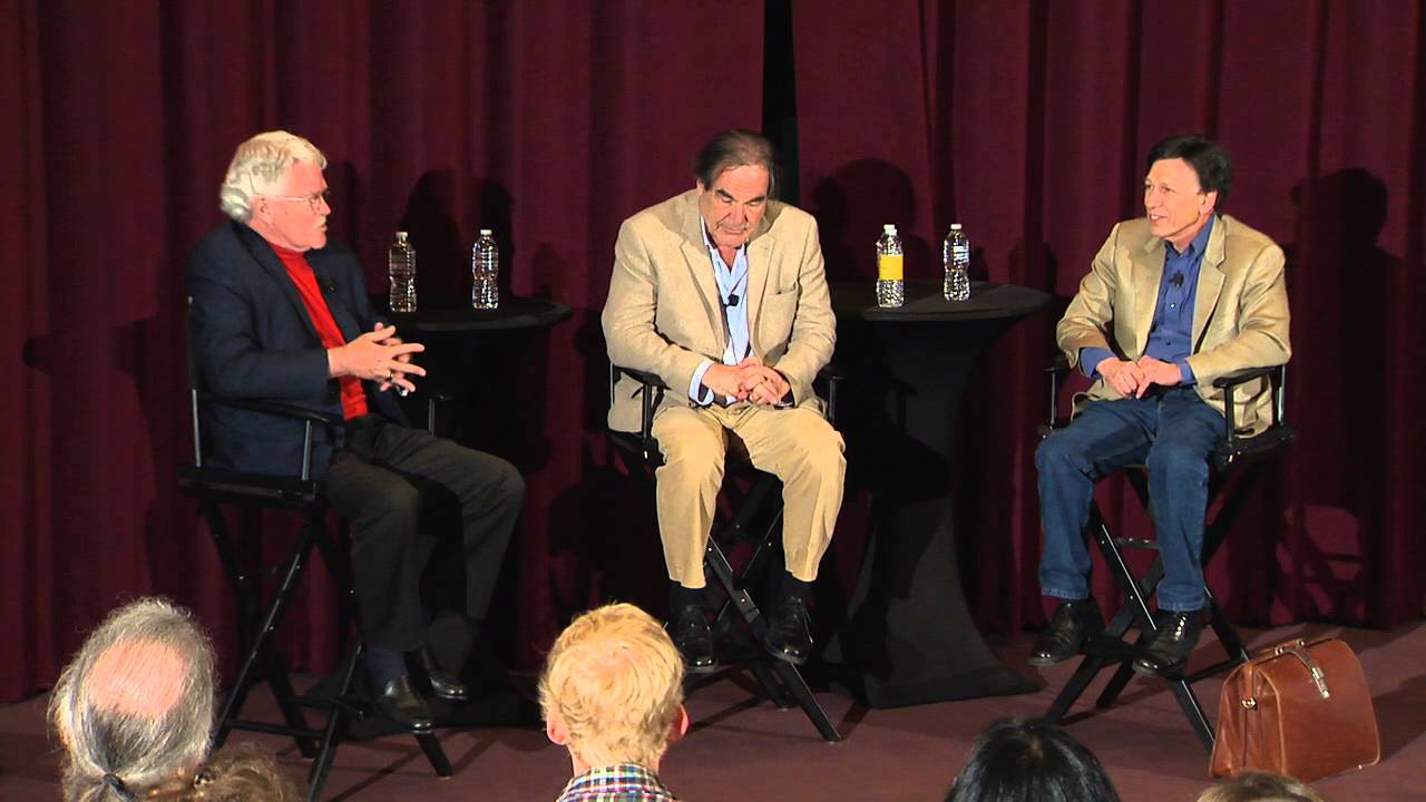 The Untold History of the United States with director Oliver Stone & writer Peter Kuznick