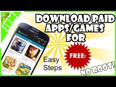 How to Download Paid Android Apps or Games Free