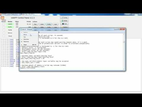 Increase Upload File Size Limit in xampp php.ini localhost   Monika Dabral