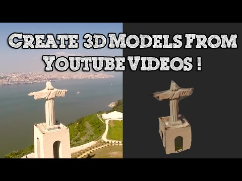 How to Make a 3D Model from any Youtube Video - Photogrammetry