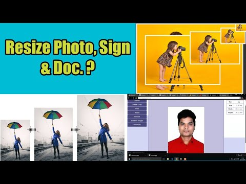 Resize Photo, Sign & Other Doc. online in cm, mm, pixel & percentage | Photo resizer| Image resizer|