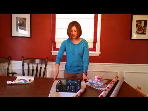 Quick & Easy How to Gift Wrap Tutorial