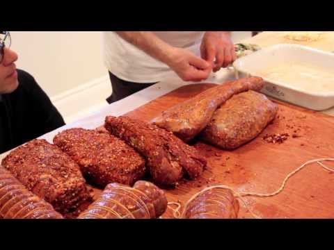 Capocollo Making at the Infusino's - A 3 Part Pork Series - with Frank Mazzuca | Family Style