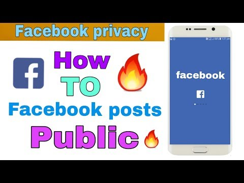 How to Facebook settings public || facebook || privacy setting