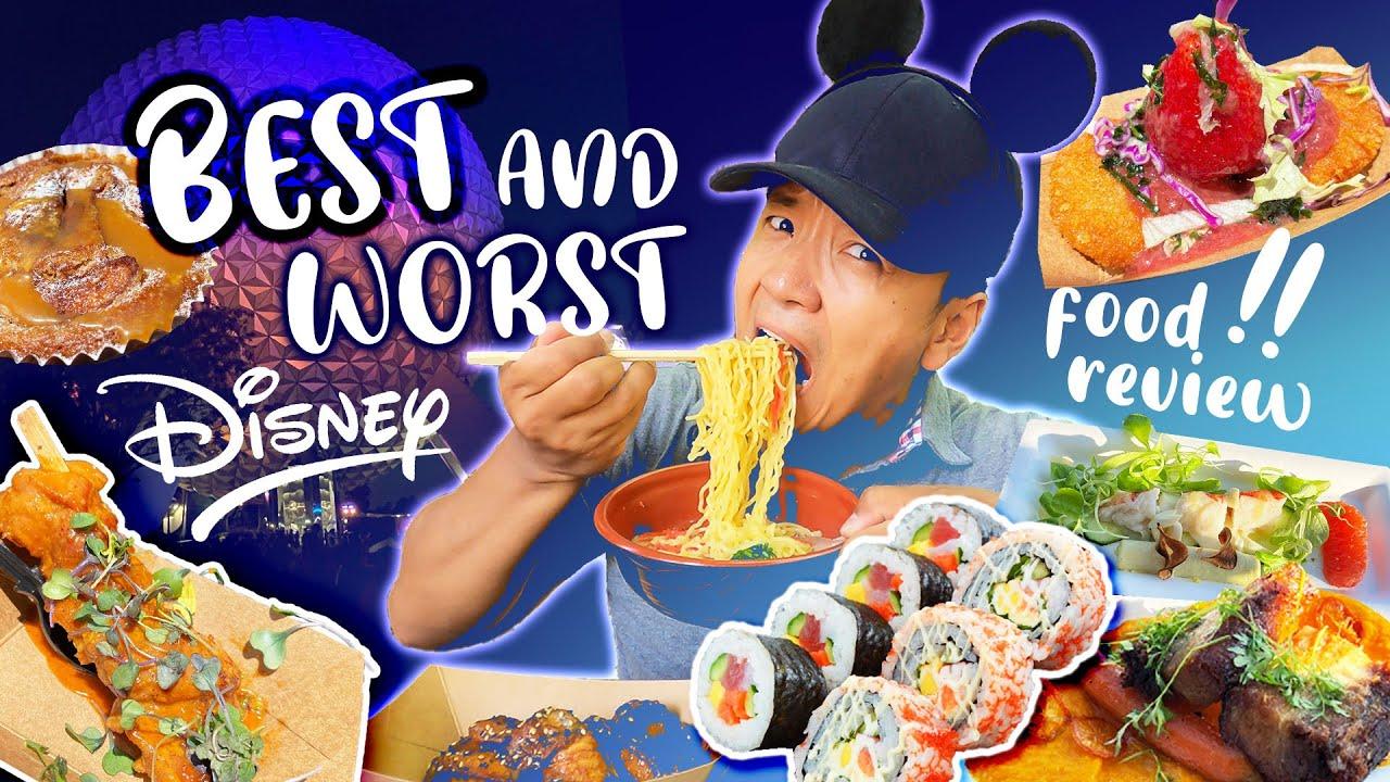 Disney's EPCOT Food Review | BEST & WORST Foods FLOWER & GARDEN Festival 2021