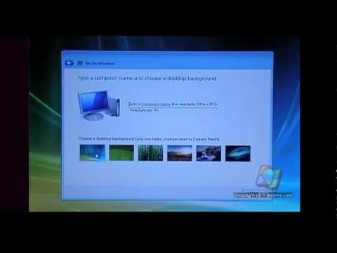 How to Install Microsoft Windows Vista