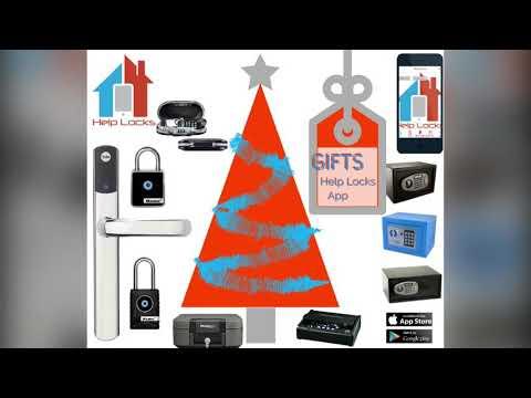 Christmas 2017 Gift Ideas From The Help Locks App, https://www.helplocks.com
