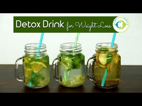 3 Simple Detox Water for Weight Loss | Indian Versions
