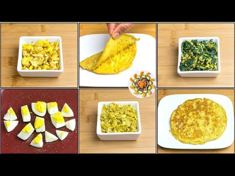 Easy Egg Recipes for  1+ Year Babies, Toddlers, Kids | Easy & Healthy Egg Recipes for Kids Indian