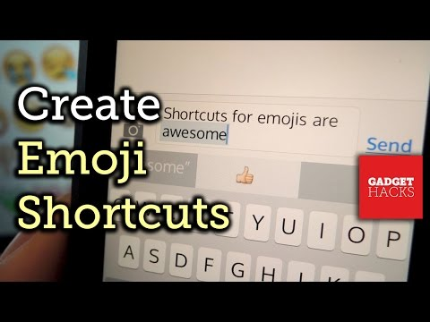 Create Emoji Shortcuts for Your iPhone's Keyboard - iOS 8 [How-To]