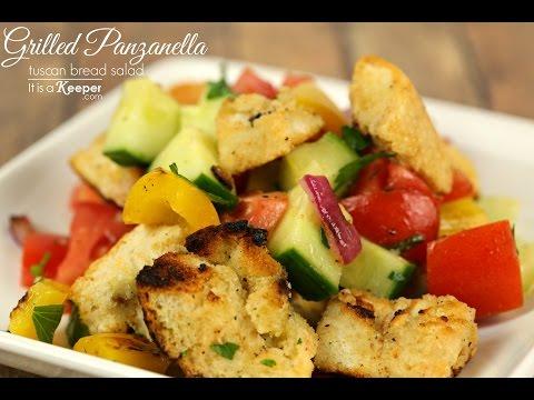 Grilled Panzanella (Tuscan Bread Salad)